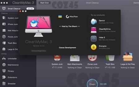 CleanMyMac 3 license key