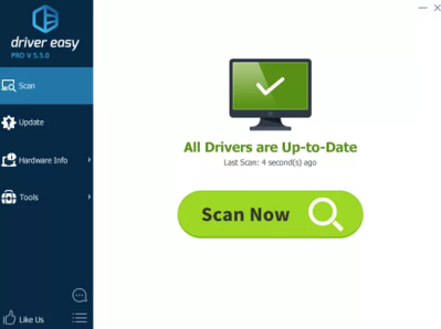 driver easy Crack interface