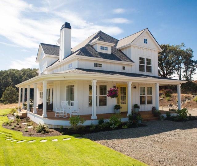 Completed Custom Home Modern Farmhouse