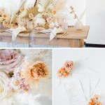 Dried Flowers Crystal Grid Wedding Inspiration Winston Main
