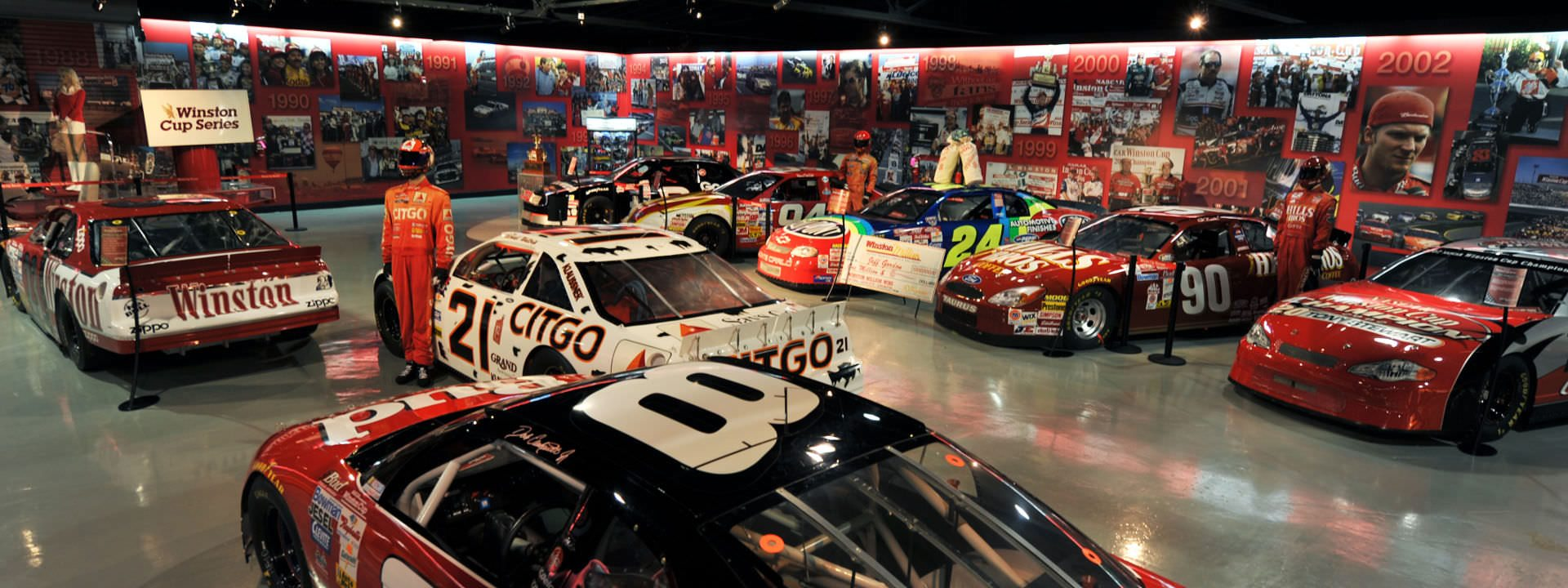 About The Museum Winston Cup Museum