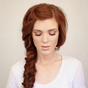 bohemian side braid hair tutorial