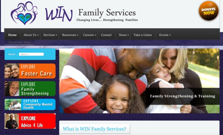 WIN Family Service Screen Shot