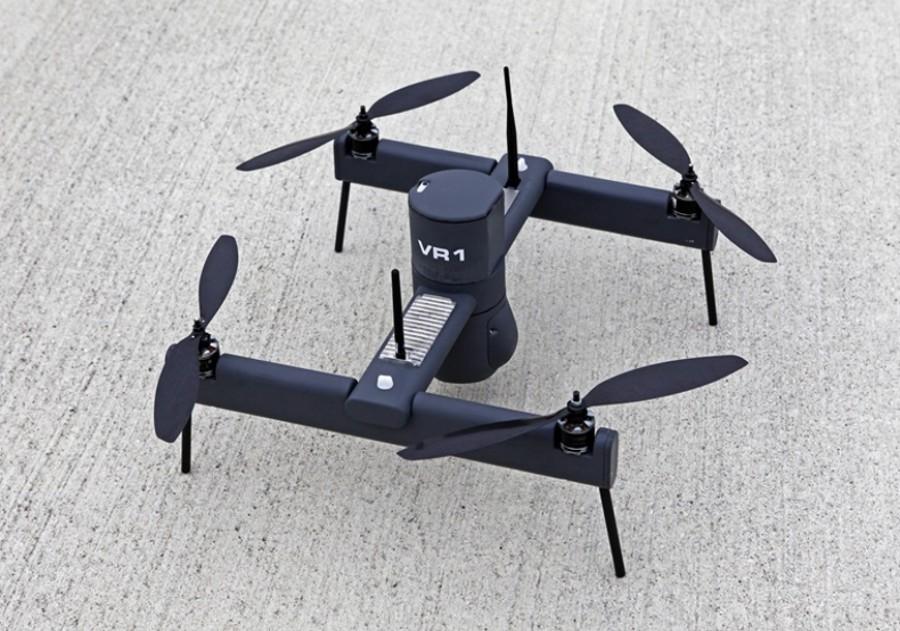 Projeto do INESC TEC desenvolve drone que atua em cenários de incêndios e cheias