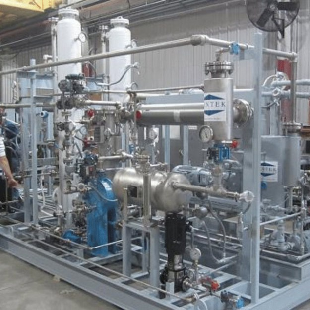 Biodiesel Methanol Recovery   Square Unit