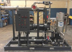 Hybrid Steam Jet Liquid Ring Vacuum System
