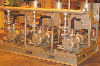 Oil-Sealed Liquid Ring Vacuum System | Triplex VMAX