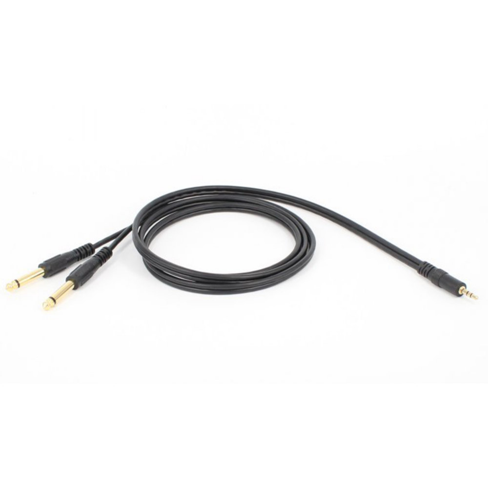 Audio Computer Mixer Cables Double 6.35mm Male 1/4″ Mono