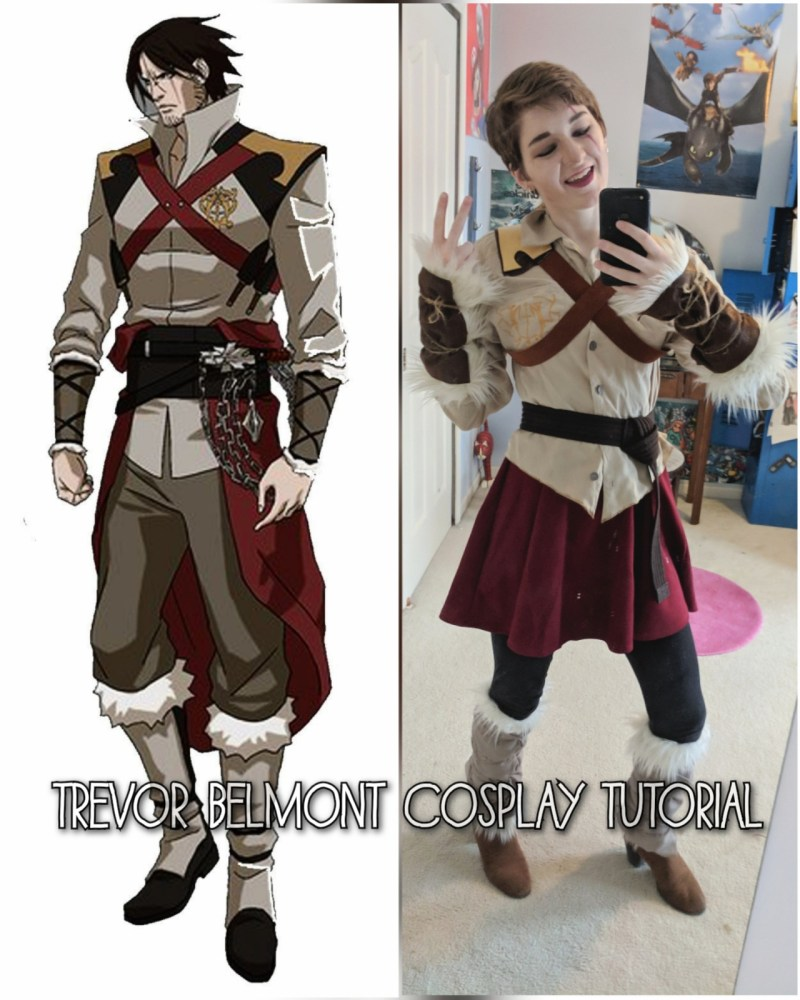 Trevor Belmont Cosplay Tutorial: the Cosplay I Made in a Day