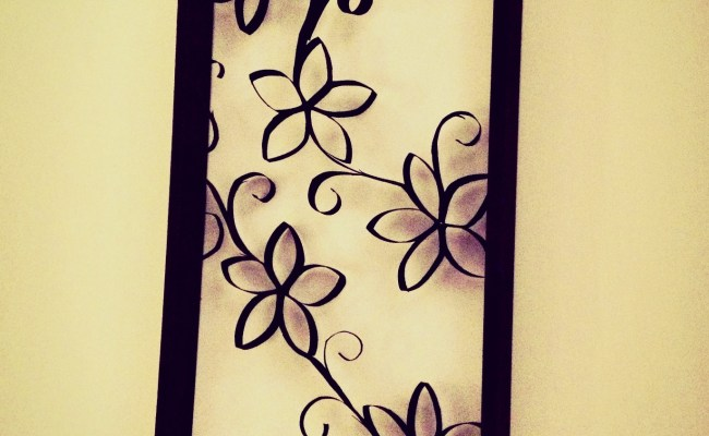 Diy Wall Decor Made From You Ll Never Guess