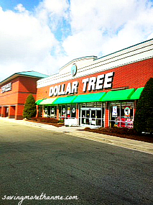 Going shopping at my favorite Dollar Tree store!