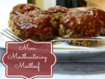 Mini Mouthwatering Meatloaf Recipe #food #recipes