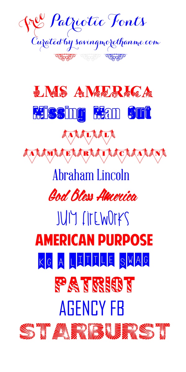 free patriotic font downloads winter sparrow. Black Bedroom Furniture Sets. Home Design Ideas