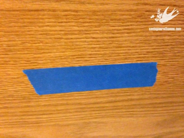 From Boring Brown To Beautiful Blue: A File Cabinet Gets A Makeover with Chalk Paint #diy winterandsparrow.com