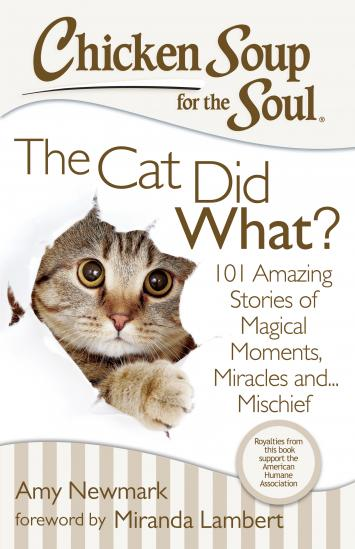 Chicken Soup for the Soul--The Cat Did What? Book Review + Giveaway {3 winners-US} #ad winterandsparrow.com