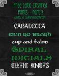Celtic Design Basics Plus 11 Free Celtic-Inspired Fonts