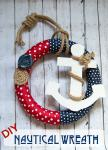 Easy to Make: DIY Nautical Wreath