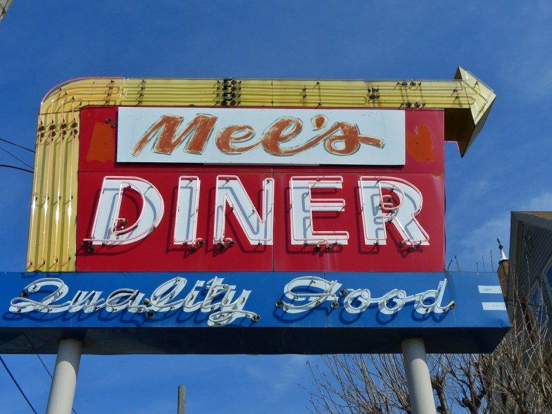 Food and Diner Inspired Fonts {free} winterandsparrow.com