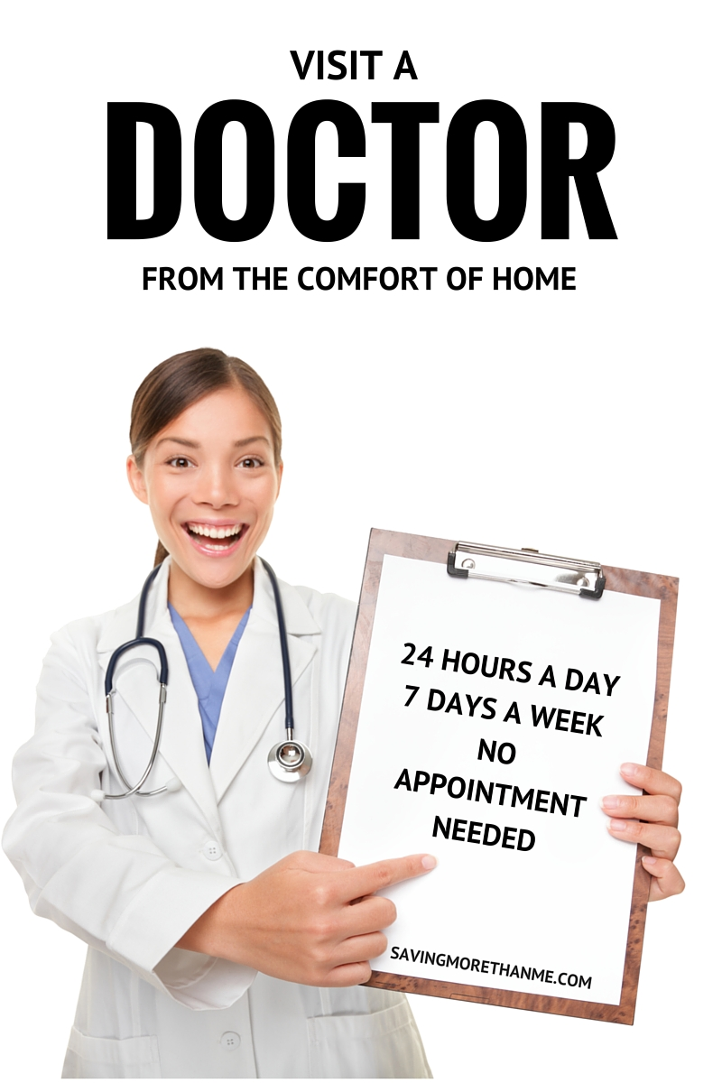 It's the 21st Century: Visit A Doctor From The Comfort Of Home 24/7/365 #MOMSLOVEAMWELL (ad)