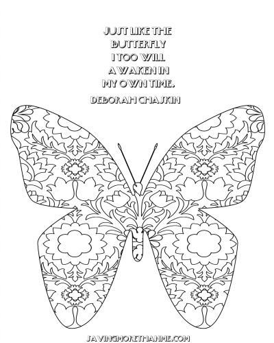 Summer Freebies: Butterfly Coloring Pages, Clip Art, and Bookmarks winterandsparrow.com