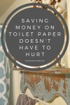 Saving Money On Toilet Paper Doesn't Have To Hurt