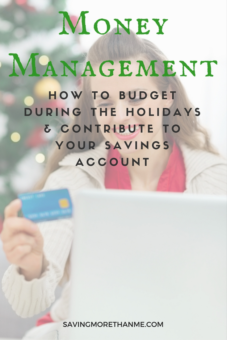 Money Management: How To Budget During The Holidays + Contribute To Savings @upromise #aceyoursavings #upromise #ad