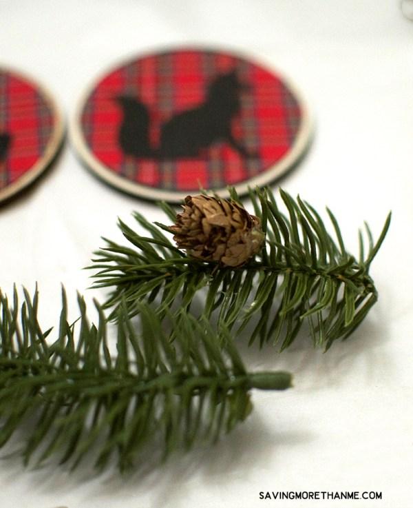 Christmas Gifts, Wrapping Paper, and DIY Woodland Ornaments #BigLotsHoliday #ad