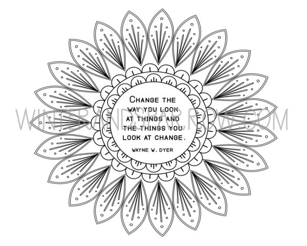 Why Coloring Reduces Stress + Anxiety (4 Free Mandala