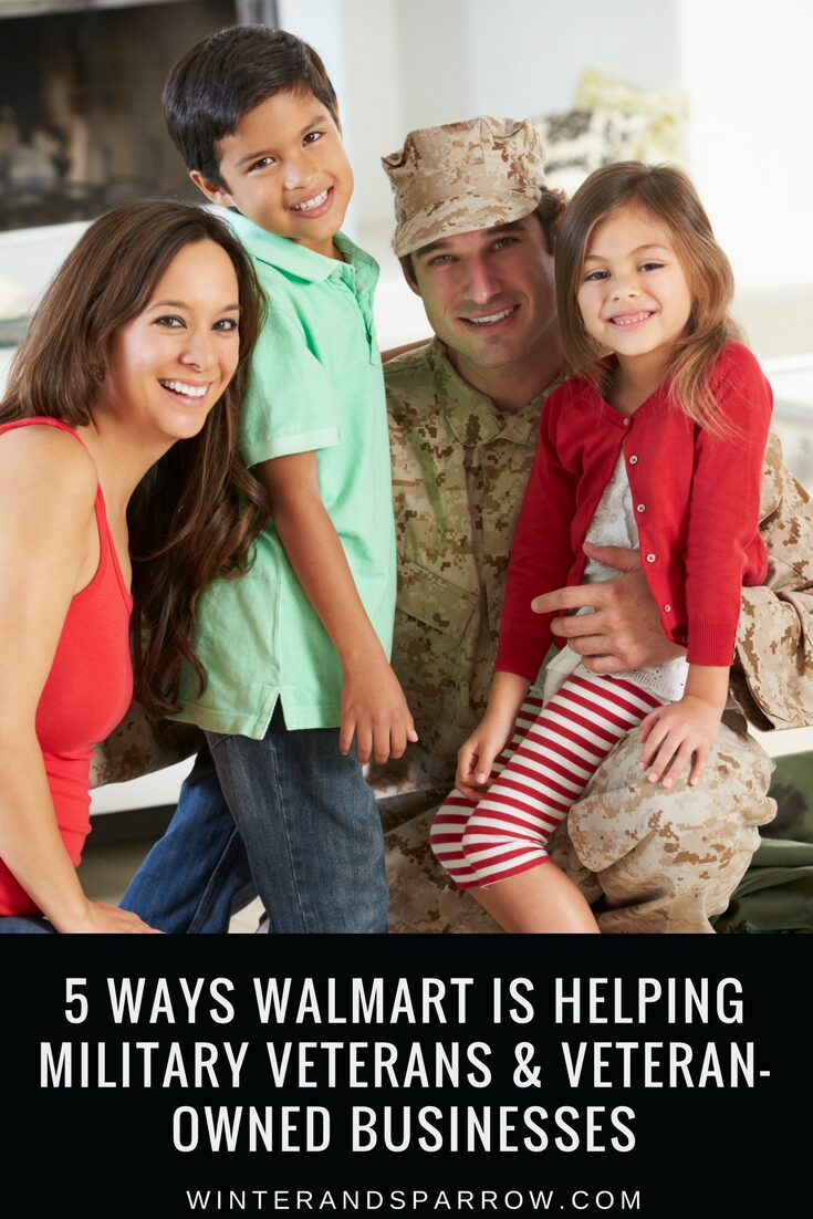 5 Ways Walmart Is Helping Military Veterans and Veteran-Owned Businesses #VetSource