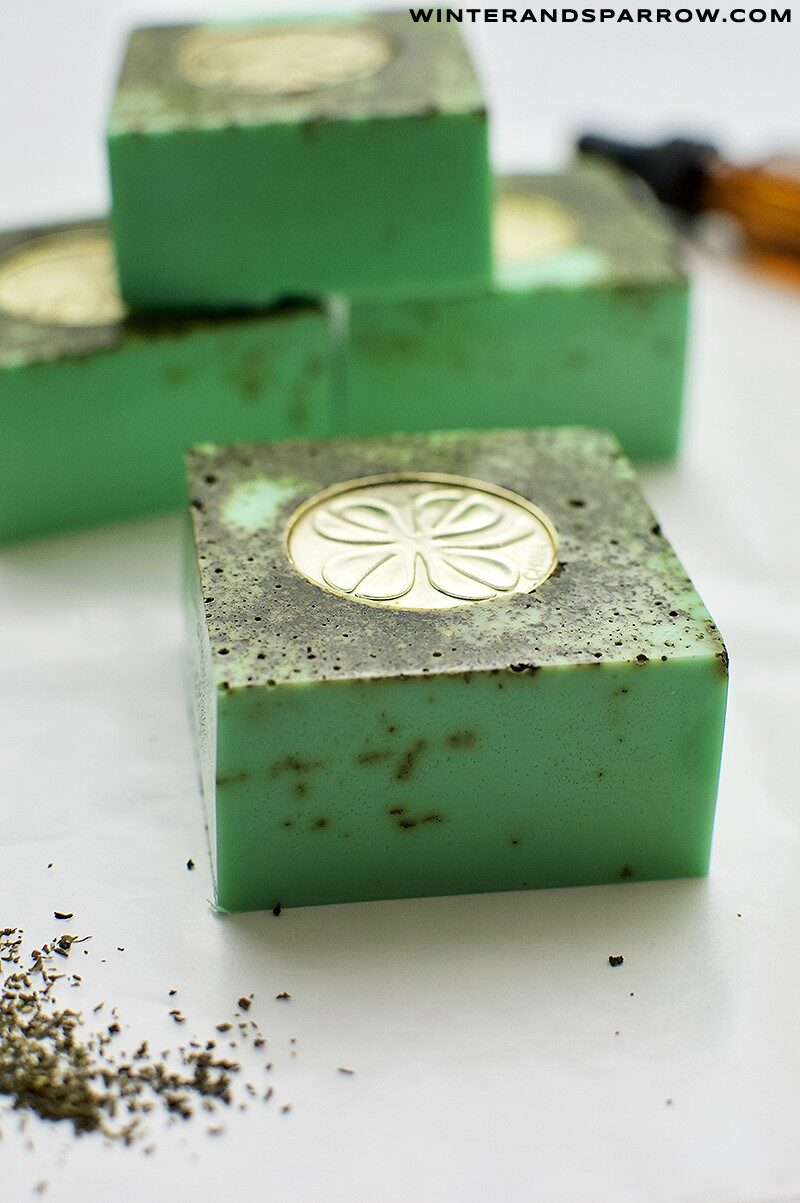 St. Patrick's Day Craft: Lucky Shamrock Soap winterandsparrow.com
