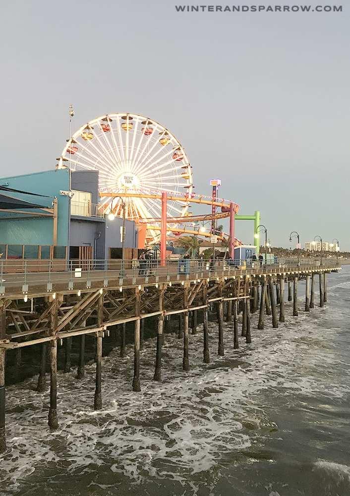 5 Cheap Or Free Things To Do At The Santa Monica Pier winterandsparrow.com