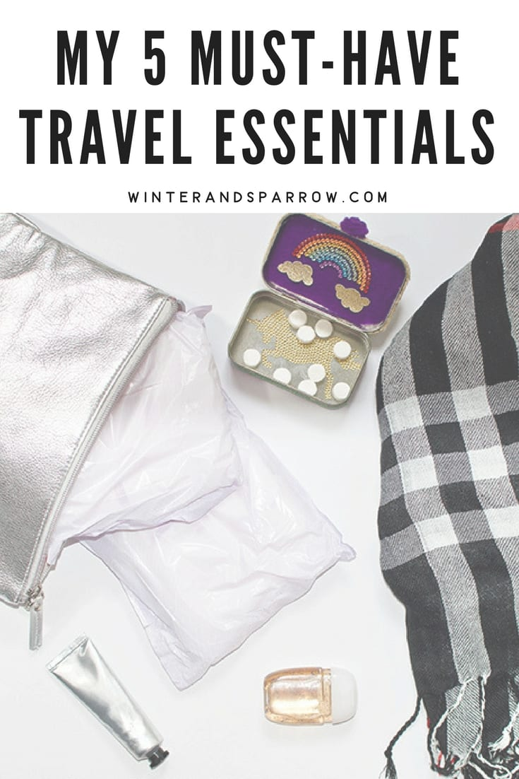 My 5 Must-Have Travel Essentials #ad #ChooseTENAOvernight winterandsparrow.com