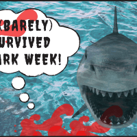 Free Shark Printables:  Perfect for #SharkWeek or Party Photo Props