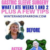 Diet After Gastric Sleeve Surgery: What I Ate Weeks 1 + 2 Plus A Few Tips [VIDEO]