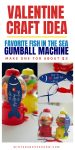 """Valentine Craft Ideas:  """"You're My Favorite Fish In the Sea"""" Gumball Machine {VIDEO}"""