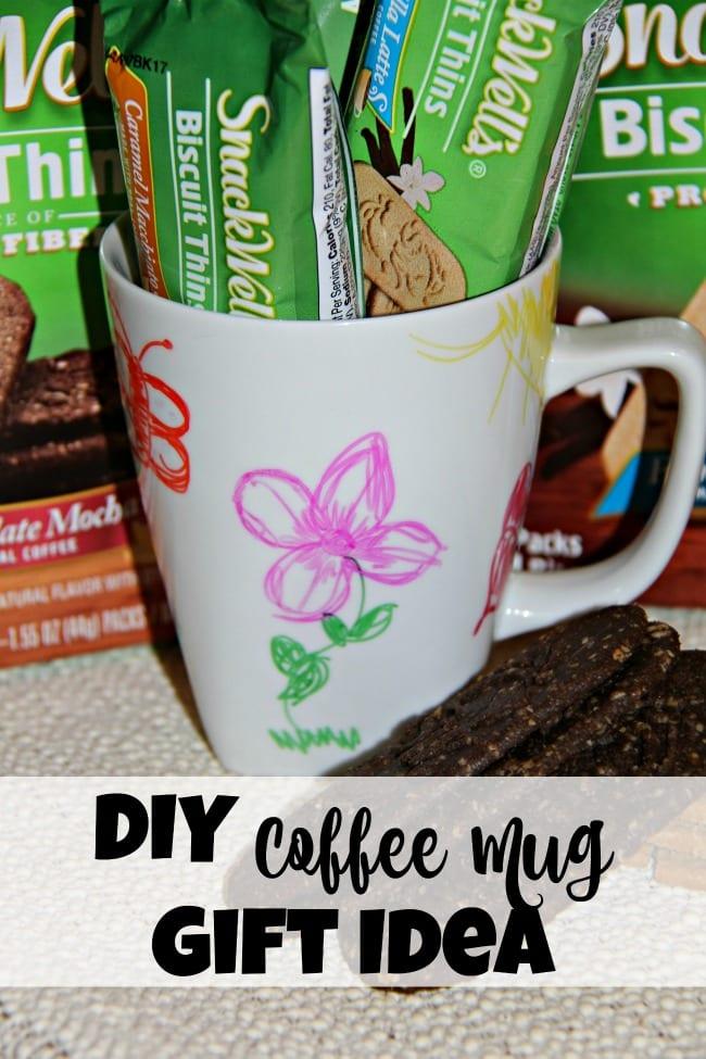 Make Mornings Great DIY Coffee Mug Gift Idea - Our WabiSabi Life