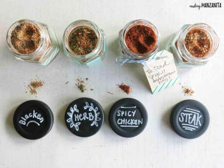 DIY Spice Rubs for Father's Day Gifts
