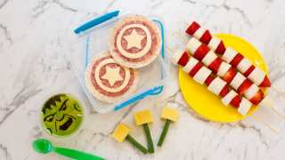 Easy Avengers Theme Lunchbox Ideas