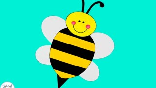 Preschool Bee Craft with Free Bee Template