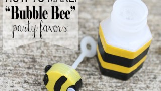 "How to Make ""Bubble Bee"" Party Favors"