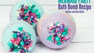 Mermaid Bath Bombs That Look AMAZING Two Ways!