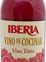 Iberia Red Cooking Wine 25.4 fl. oz., Exclusively for Cooking, Full-Strength Wine That Enhance the Flavor of Almost Any Dish
