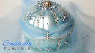 DIY Disney Cinderella Pumpkin