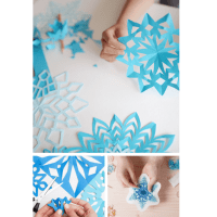 All About Snowflakes: Snowflake Templates, Gift Tags, Word Search+More