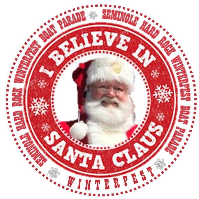 I Beleive in Santa Claus Badge