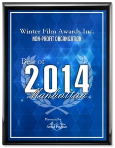 Winter Film Awards Inc. honored with 2014 Best of Manhattan Award