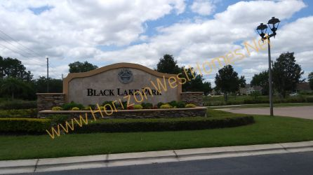 Black Lake Park homes for sale Gated Community Winter Garden Florida
