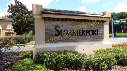 Summerport Community WIndermere Florida. Entrance sign.