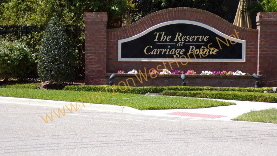 The Reserve at Carriage Pointe homes for sale Winter Garden Florida