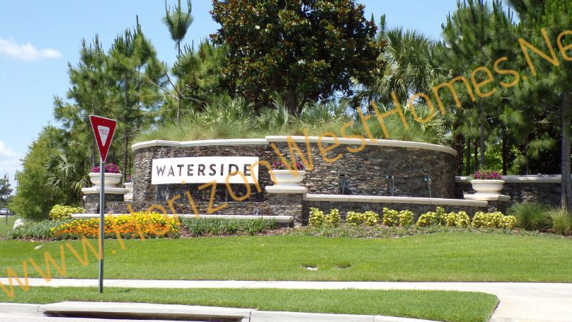 Waterside homes for sale Winter Garden Florida Entrance